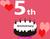 5th Anniversaryキャンペーン♡